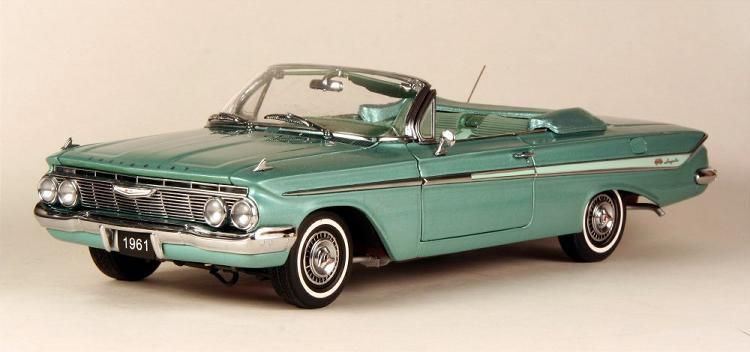 1961 Chevy Impala Convertible in Arbor Green 124 |