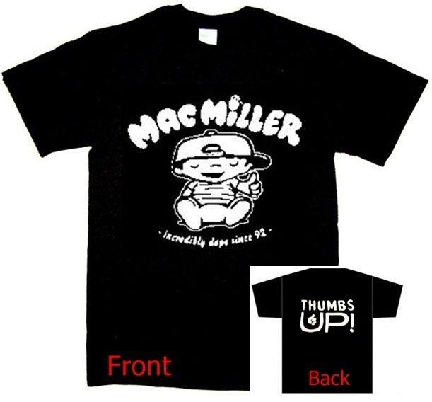 Thumbs Up Shirt Knock Knock Rap Hip Hop T SHIRT Front & Back Print