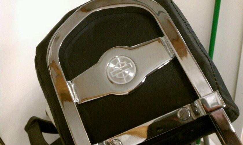 Harley Davidson Fat Boy Softail Quick Release Detachable Backrest