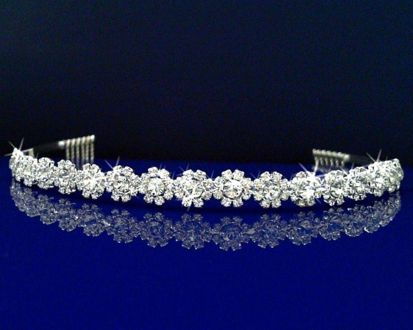 Wedding Bridal Homecoming Prom Party Crystal Tiara Headband 26336