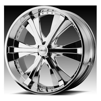 Wheel SET XD RIMS 22x9.5 Chrome DODGE 5LUG 6LUG VEHICLES CHEVY