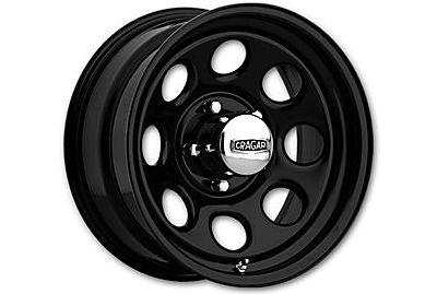 Cragar Soft 8 397 Wheel Black 16x7 6x5.5