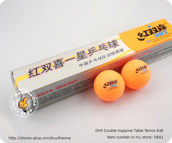 18PCS DHS 1 Star Table Tennis Ping Pong Balls C.T.T.A
